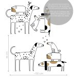 catei-amorezati-autocolant-decorativ-de-perete-love-dogs-wall-sticker-dimensions