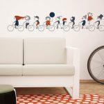 ciclism-autocolant-decorativ-de-perete-wall-1