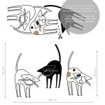 pisici-jazz-autocolant-decorativ-de-perete-jazz-cats-wall-sticker-dimensions