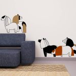 ponei-autocolant-decorativ-de-perete-pony-wall-sticker-2