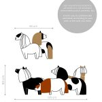 ponei-autocolant-decorativ-de-perete-pony-wall-sticker-dimensions