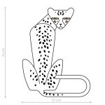 ghepard-autocolant-decorativ-de-perete-cheetah-wall-sticker-01