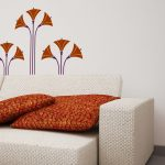 lotus-flori-autocolant-decorativ-de-perete-lotus-flowers-wall-sticker-03