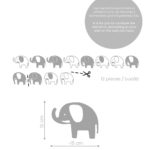 elefanti-elephants-wallstickers