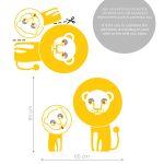 leuti-lions-wall-sticker-autocolant-de-perete (4)