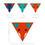 vulpe-autocolant-decorativ-de-perete-fox-head-wall-sticker (2)
