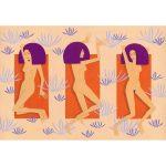 gagica-perpelindu-se-la-soare-babe-having-a-sun-roast-illustration-art-print-01